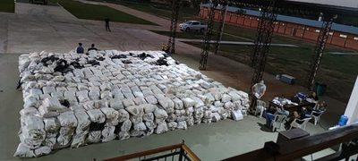 Concepción: Tras operativo incautan 35754 kilos de marihuana