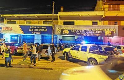 La Policía detecta aglomeración en una chopería luqueña •