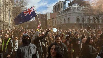 Decenas de miles manifiestan contra restricciones sanitarias en Europa y Australia