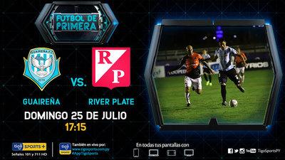 Guaireña y River Plate juegan en Villarrica