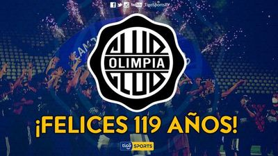 Olimpia celebra su aniversario 119