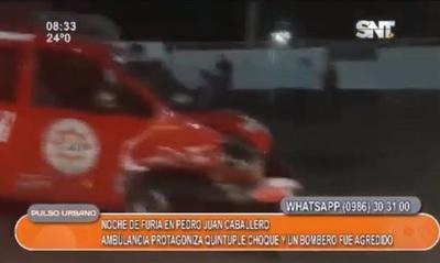 Accidente, amputación, choque de ambulancia y más en Pedro Juan