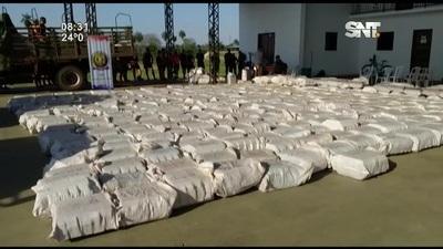 Incautan 36 toneladas de marihuana en Concepción