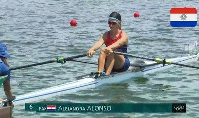 Ale Alonso va por registrar la mejor marca del remo nacional en Olimpiadas