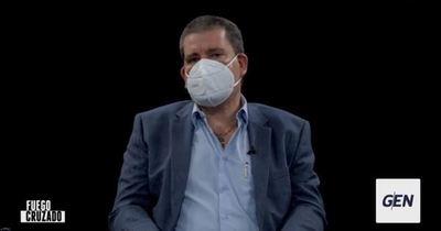 "Senador ""Tony"" Barrios afirma que Hugo Velázquez no se impondrá a Santiago Peña"