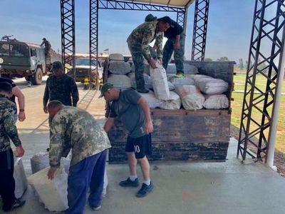 Incautan el mayor cargamento de marihuana en Paraguay