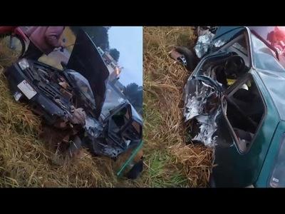GRAVE ACCIDENTE EN TRINIDAD SOBRE RUTA PY06