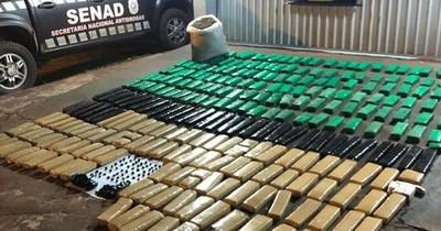 La Nación / Detectan puerto clandestino con 206 kilos de marihuana en Canindeyú