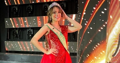 Joven paraguaya destaca en Miss Mesoamerica International