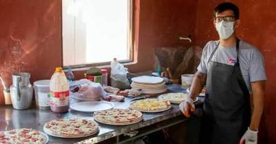 Se hizo pizzero en la cárcel y busca retornar a la sociedad