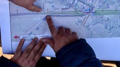 Itapúa verifica el trazado de obras para recuperar el tren