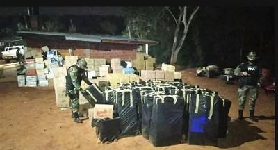 Desmantelar PASO FRONTERIZO CLANDESTINO entre Paraguay y Argentina