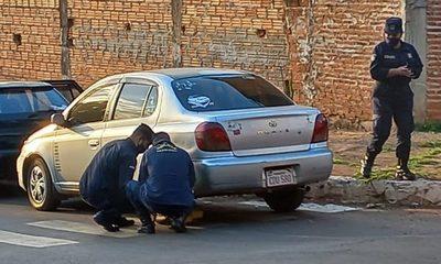 Cepo a vehículos mal estacionados en Franco