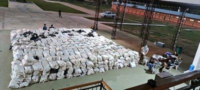 Incautaron carga récord de 36 toneladas de marihuana