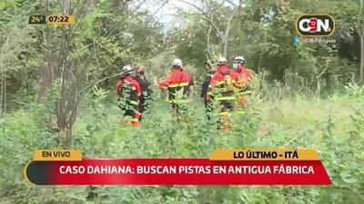 Caso Dahiana Espinoza: Inspeccionan fabrica abandonada