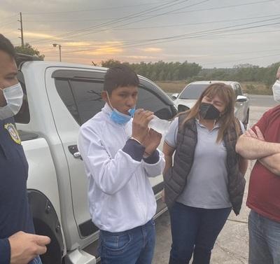 Detienen a Jhony Paredes Gauto, presunto miembro del EPP