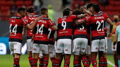 Flamengo, rival de Olimpia, golea al Sao Paulo