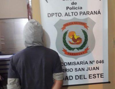 Policías ingresan a una casa y aprehenden a un hombre que golpeaba a su expareja – Diario TNPRESS