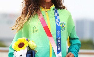 La niña de 13 años que regaló a Brasil una medalla