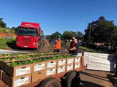 Productores frutihortícolas no descartan nuevo cierre de ruta si continúa el ingreso de contrabando