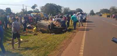 Accidentes de tránsito marcaron el fin de semana en Alto Paraná