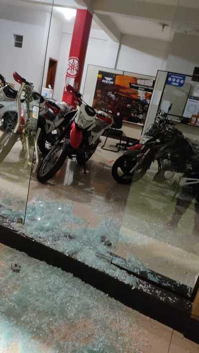 Hurtan motocicletas de Chacomer