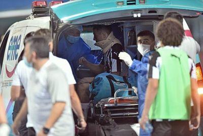 Sebastián Ferreira sufrió un traumatismo cráneo encefálico