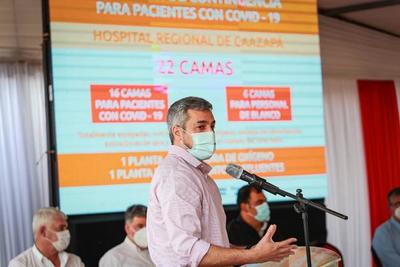 Presidente agradece solidaridad internacional y vuelve a criticar a Covax