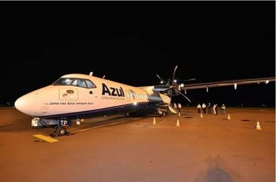 Compañía aérea Azul transfiere vuelos a Ponta Porã