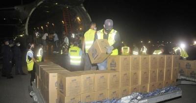 La Nación / Cuba recibe 88 toneladas de ayuda humanitaria enviada por Rusia