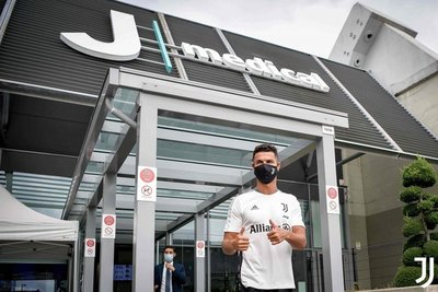 Cristiano Ronaldo inicia su cuarta pretemporada con la Juventus