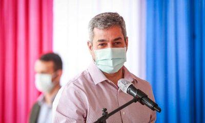 """Fracaso que pagaron los paraguayos: """"El mecanismo Covax no funcionó"""", dice Mario Abdo"""