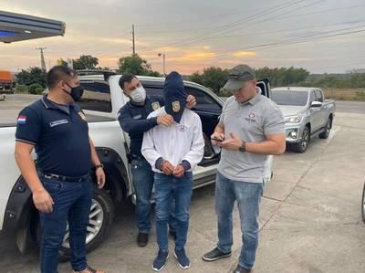 Jhonny Paredes Gauto tuvo activa participación en dos hechos terroristas, afirman autoridades