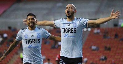 El gol de Carlos González en el triunfo de Tigres