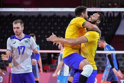 Tokio 2020: Remontada épica de Brasil para evitar la hazaña de Argentina en voleibol