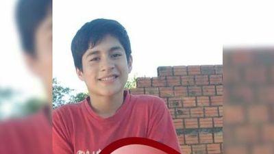 Niño de 13 años no vuelve a casa y se borró su Facebook