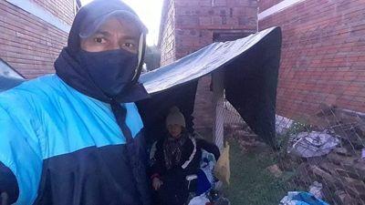 Denuncian que cuatro familias invaden viviendas en Pirayú