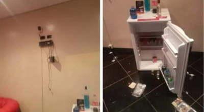 Hicieron un trío en un motel y se robaron la tele, radio y otros artículos