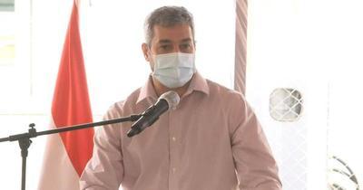 """""""El mecanismo Covax no funcionó"""", afirma Abdo Benítez"""