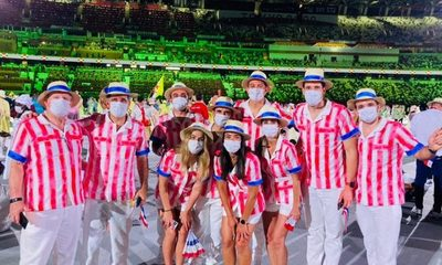 Paraguay, el look olímpico ganador