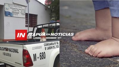 RESCATAN NIÑOS EN ABANDONO: POLICÍAS ENCONTRARON A LA MAMÁ TOTALMENTE ALCOHOLIZADA.