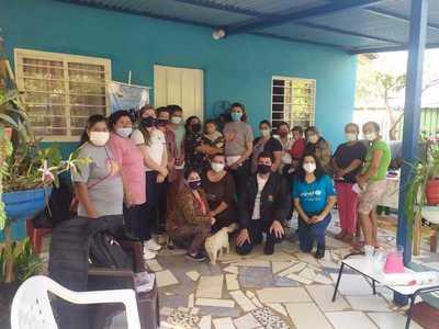 Minna capacitó a padres de Caaguazú en crianza positiva