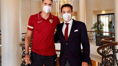 """Lamela, incorporado al Sevilla, dice que el reto es """"seguir ganando títulos"""""""