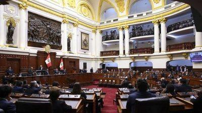 Congreso de Perú elige autoridades, claves para el primer año del gobierno de Castillo