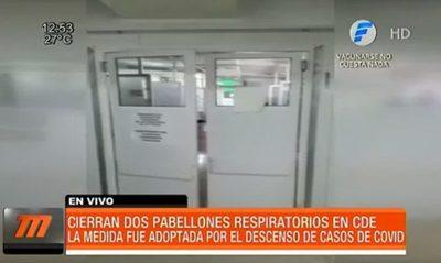 Hospital de Ciudad del Este cierra dos pabellones COVID19