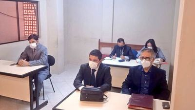 Suspenden otra vez juicio oral a Froilán Peralta