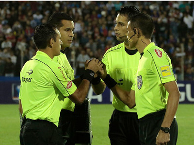 Jueces para el inicio de la Copa Paraguay