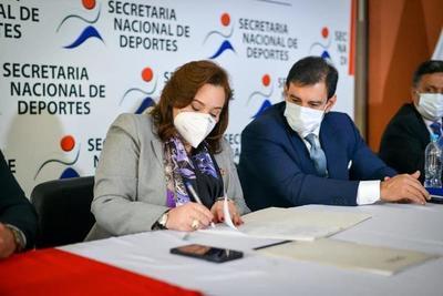 Firman contrato para inicio de obras en el estadio de Caaguazú – Prensa 5