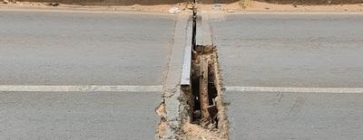 Limpio: grietas en viaducto genera preocupación a conductores