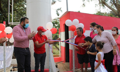 Habilitan sistema de agua potable en Coronel Oviedo